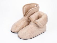 Домашняя обувь из шерсти